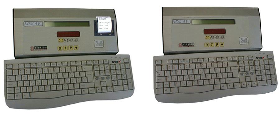 Ηλεκτρονικό Ζυγιστήριο τύπου MSZ 4 Αλφαριθμητικό με Σειριακή/Παράλληλη Επικοινωνία της εταιρίας Αλεξίου ΑΕ ζυγιστικές μηχανές
