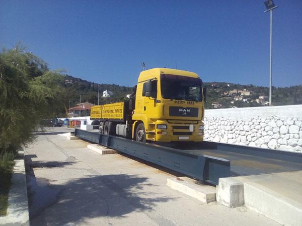 φορητή γεφυροπλάστιγγα επιφανείας μεταλλική χωρίς θεμελίωση με 8 δυναμοκυψέλες, από την Αλεξίου ΑΒΕΕ