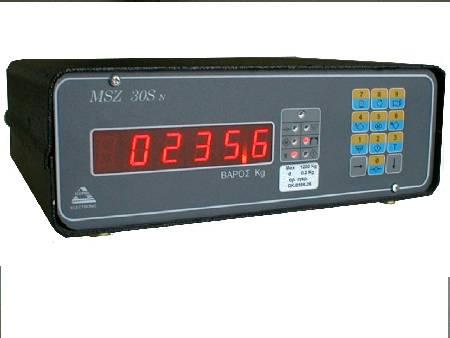Ηλεκτρονικό Ζυγιστήριο τύπου MSZ 30S Απλής Ζύγισης- 1