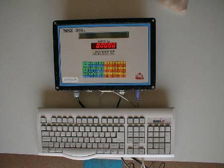 Ηλεκτρονικό Ζυγιστήριο τύπου MSZ 30SA Αλφαριθμητικό με Σειριακή/Παράλληλη Επικοινωνία