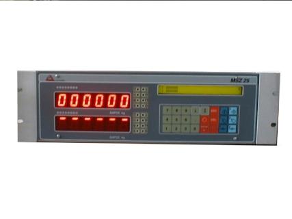 Ηλεκτρονικό Ζυγιστήριο τύπου MSZ 25 Δοσομετρικής Ζύγισης