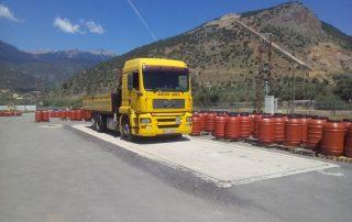 Γεφυροπλάστιγγες διακριβώνονται σε Αγροτικό Ελαιουργικό Συνεταιρισμό στην Κεντρική Ελλάδα από το εργαστήριο της ΑΛΕΞΙΟΥ ΑΒΕΕ