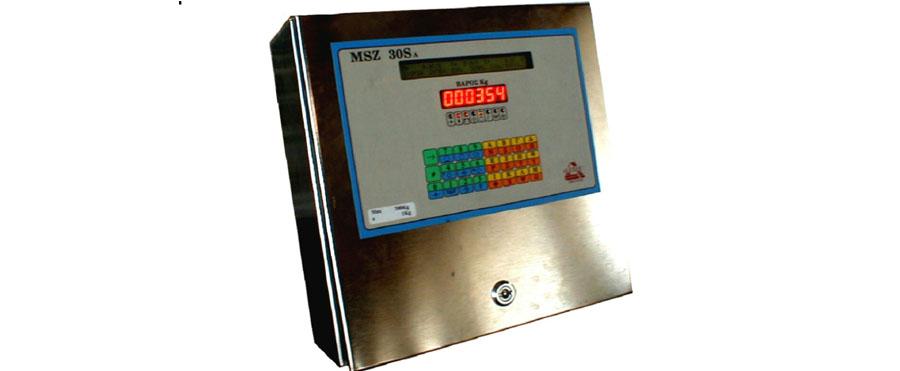 Ηλεκτρονικό Ζυγιστήριο τύπου MSZ 30SA Αλφαριθμητικό με Εισόδους/Εξόδους