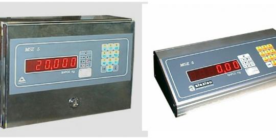 Ηλεκτρονικό Ζυγιστήριο τύπου MSZ 5 Απλής Ζύγισης της εταιρίας Αλεξίου ΑΕ ζυγιστικές μηχανές