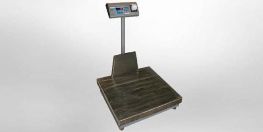 Ζυγιστήριο Μικρής Πλατφόρμας τύπου ΒΧ της εταιρίας Αλεξίου ΑΕ ζυγιστικές μηχανές
