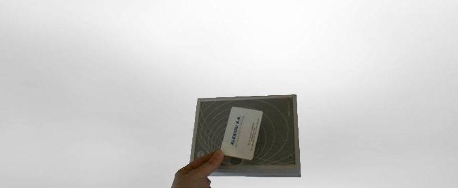 Αναγνώστης Καρτών της εταιρίας Αλεξίου ΑΕ ζυγιστικές μηχανές