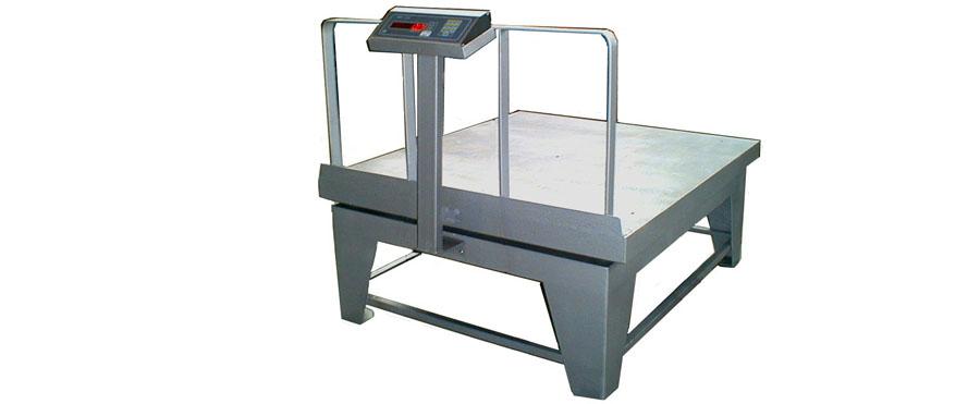 Πλάστιγγα Δαπέδου τύπου PSE της εταιρίας Αλεξίου ΑΕ ζυγιστικές μηχανές