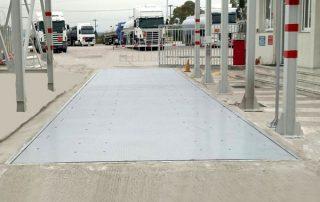 γεφυροπλάστιγγα μεταλλική με θεμελίωση μοντέλο SHM από την Αλεξίου ΑΒΕΕ, Αθήνα