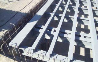 ηλεκτρονική γεφυροπλάστιγγα θεμελίωσης με 8 δυναμοκυψέλες σε διαδικασία εγκατάστασης στον Ασπρόπυργο από την εταιρία ΑΛΕΞΙΟΥ ΑΒΕΕ