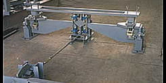 Μηχανική Γεφυροπλάστιγγα από την εταιρία Αλεξίου ΑΕ ζυγιστικές μηχανές