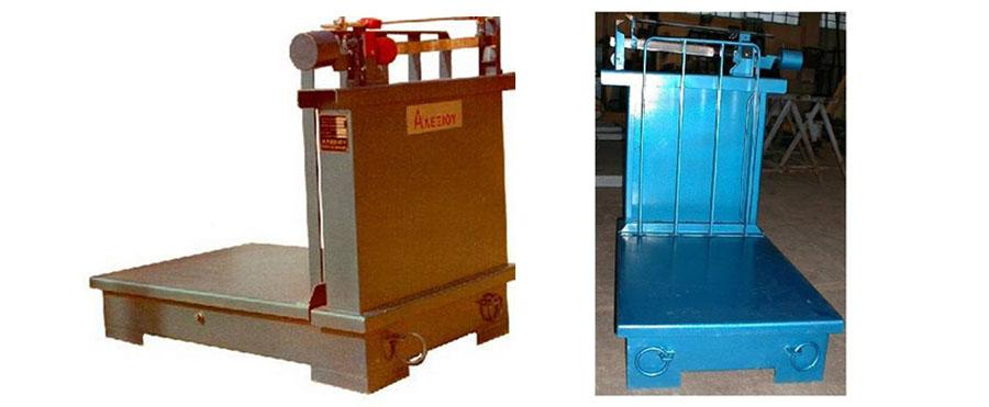 Πλάστιγγα Μηχανική τύπου 2Ζ της εταιρίας Αλεξίου ΑΕ ζυγιστικές μηχανές
