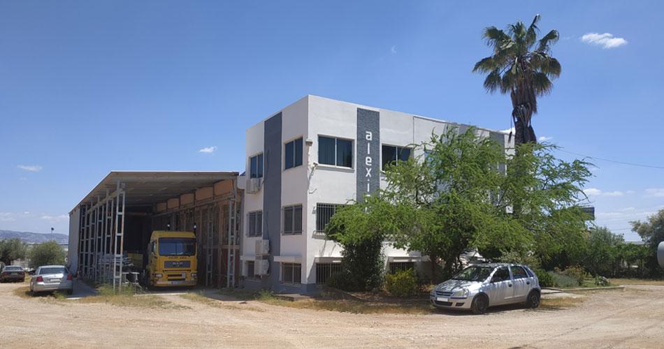 Το εργοστάσιο της εταιρίας ΑΛΕΞΙΟΥ ΑΒΕΕ - ΖΥΓΙΣΤΙΚΕΣ ΜΗΧΑΝΕΣ στην Αττική, με κατασκευή ζυγιστικών μηχανημάτων, διακριβώσεων