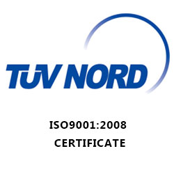 TUV-ISO 9001-Certificate